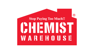 CHEMIST WAREHOUSE RED HOUSE LOGO